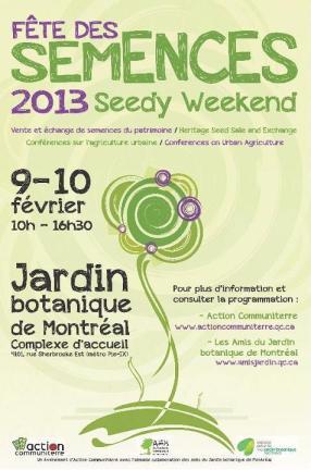 Action Communiterre Seedy Weekend  2013